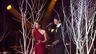 信 & A-Lin - 狂風裡擁抱(音悦V榜年度盛典)