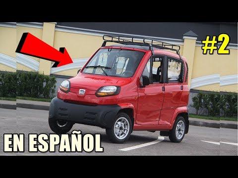 REVIEW: BAJAJ QUTE R60 EN ESPAÑOL #2 | El auto más económico del mundo