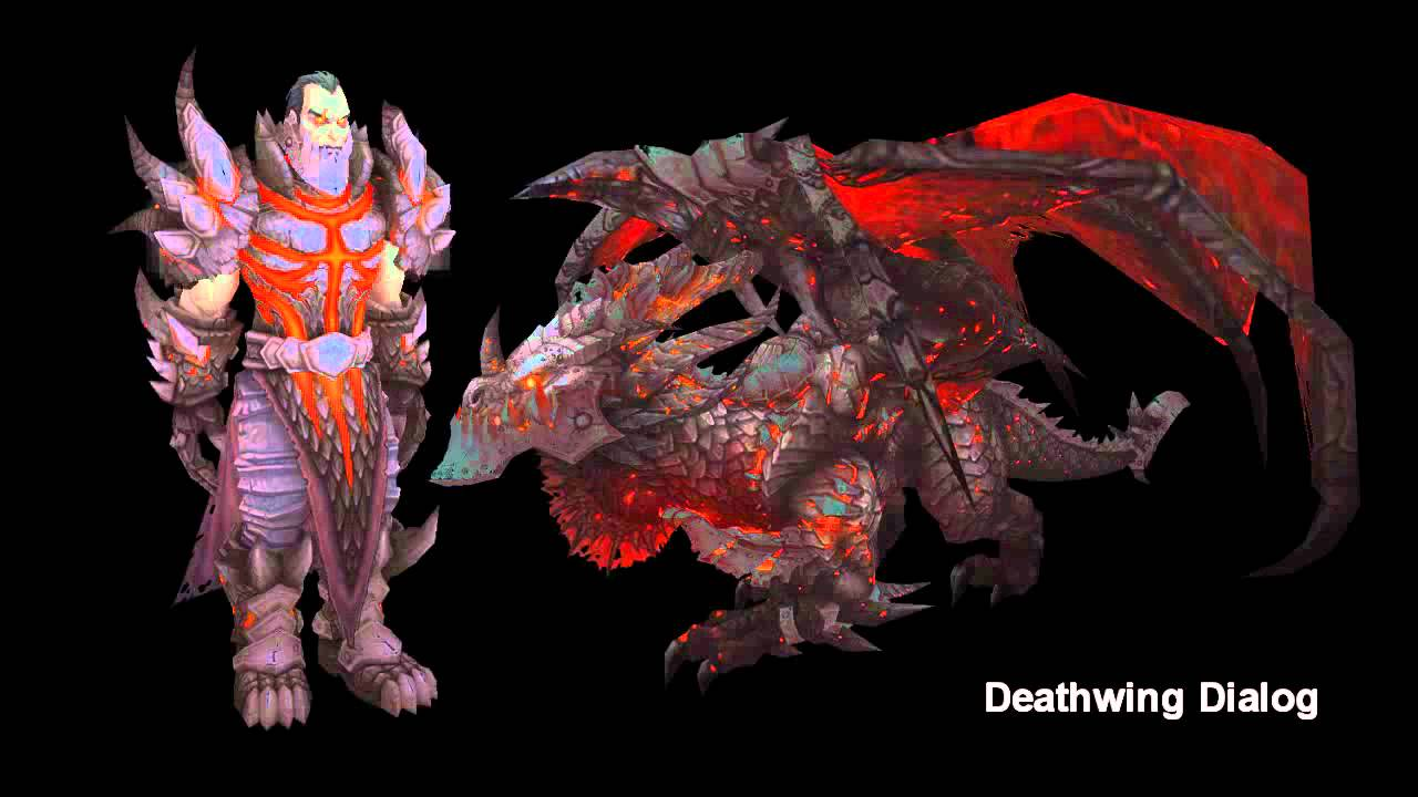 WoW Cataclysm Deathwing Dialog Human &amp Drake Form  YouTube