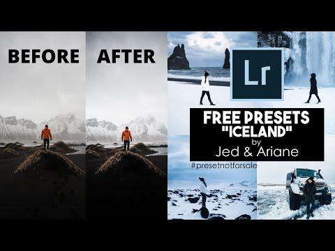 Lightroom Mobile Presets Free DNG | ICELAND | Lightroom Tutorial