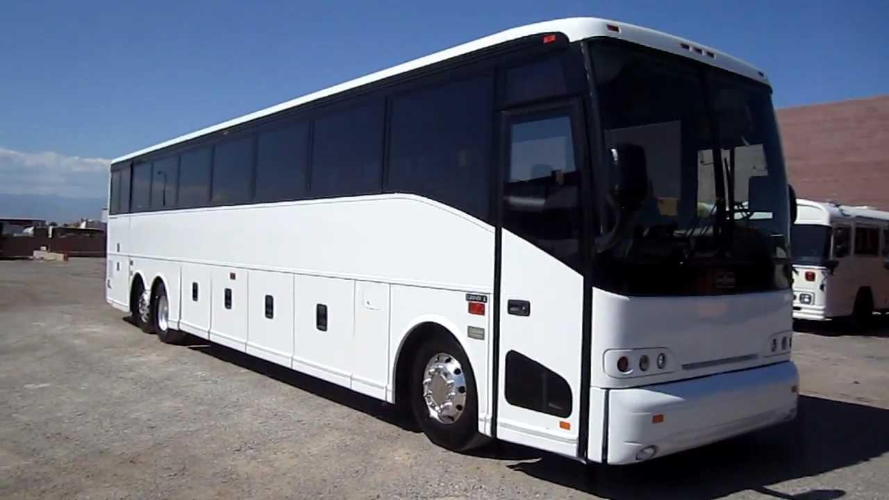 2002 Van Hool C2045 57 passenger used coach bus for sale Las Vegas Bus  Sales C45819