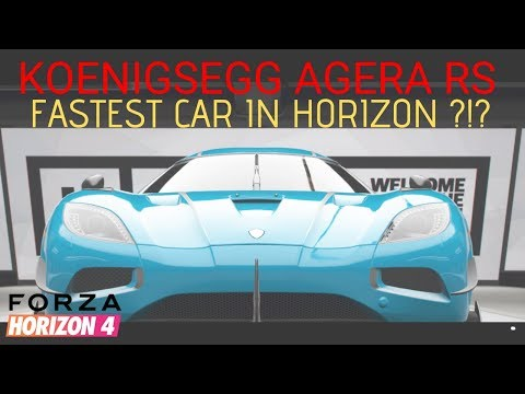 Forza Horizon 4: Best Cars In The Game (Fastest Cars)