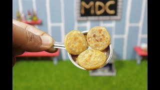 Mini Aloo Parata I MDC I MIniature real food cooking