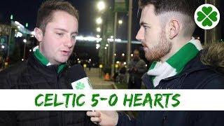 Celtic 5-0 Hearts | Full time Reaction