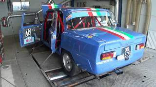 Alfa Romeo Giulia 2.0 Rally Dellortho - Dyno Run at Beek Auto Racing