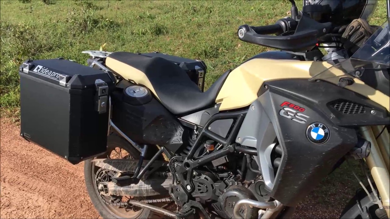 BMW F800GS ADVENTURE 2014 COM MALAS IDEAPRO - YouTube