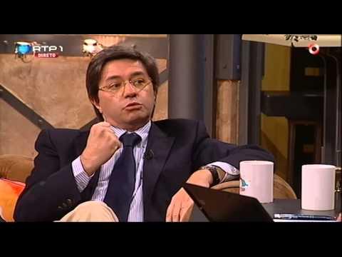"""Paulo Morais """"Luz ao fundo do túnel"""" - José Pedro Vasconcelos - 5 Para a Meia Noite"""
