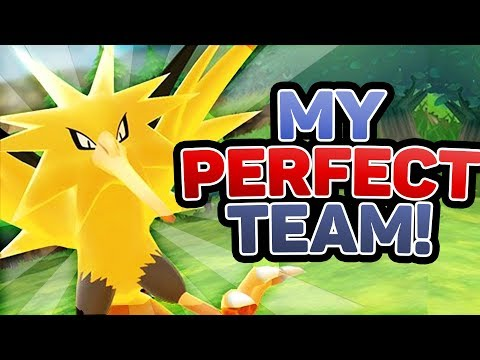 My PERFECT Team For Pokemon Lets Go Pikachu and Lets Go Eevee