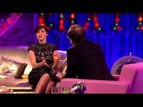 Emma Willis Interview Alan Carr Chatty Man Dec 2014