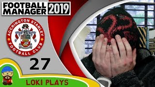 Football Manager 2019 - Episode 27 - No Gusto No! - The Stanley Parable - FM19