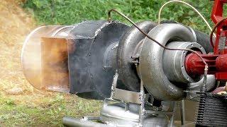 Home-built Gas Turbine Turbojet Engine - 3rd Documentary