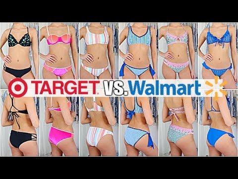 e9f47737b0dc1 Zaful Vs Walmart Cheap Bikini Try On Haul Youtube