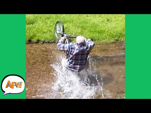 At Least He FAILED With a SPLASH! 😂  | Funny Bad Day Fails | AFV 2021