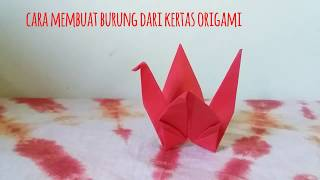 Download Cara membuat burung dari kertas origami dengan mudah dan cepat   Bagus Nurcahyo