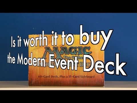 MTG - Is it worth it to buy the Modern Event Deck, March of the Multitudes? Magic: The Gathering