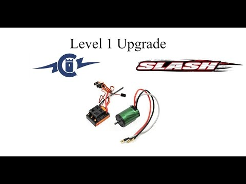 Traxxas Slash Chad Hord Level 1 Upgrade Castle Sidewinder SCT