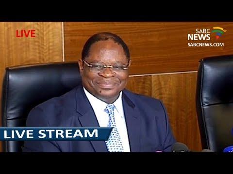 Raymond Zondo briefs the media on state capture inquiry