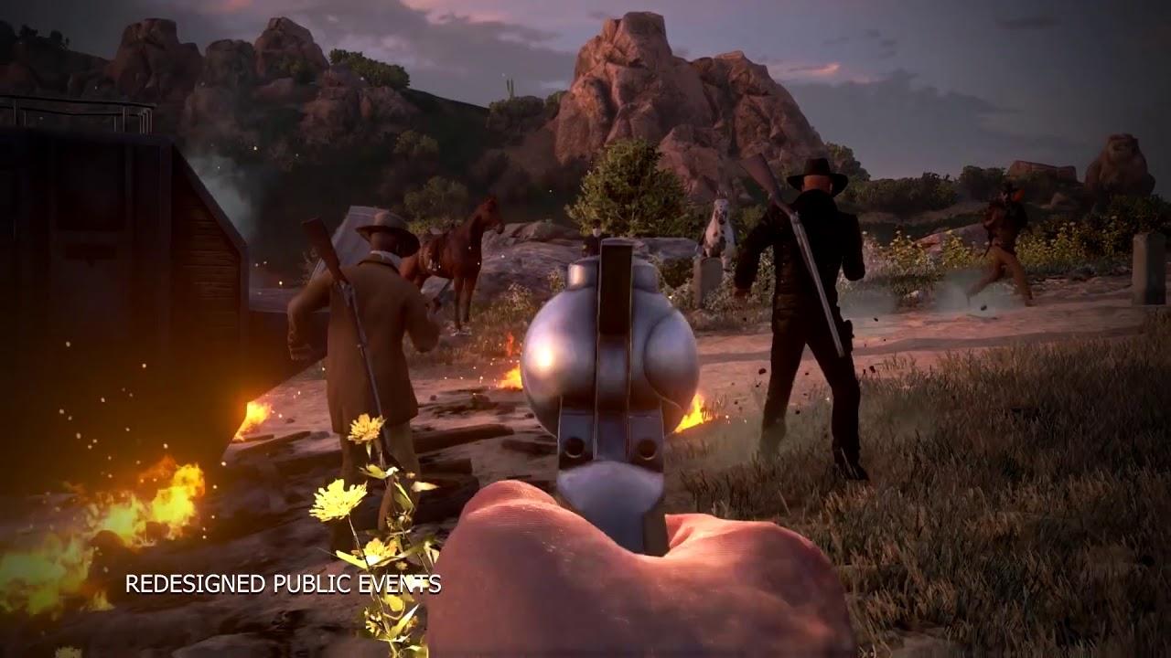 Wild West Online Steam Launch Trailer