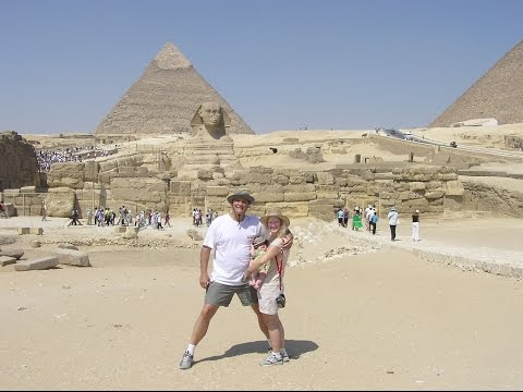 JT TRAVEL IN EGYPT PT 2- SPHINX, PYRAMIDS, PAPYRUS , LE MERIDIAN