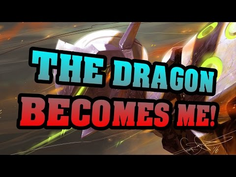 Overwatch | Sometimes THE DRAGON BECOMES ME!