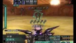 Xenosaga 3 E.S. Asher Cerberus attack