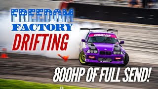 homepage tile video photo for DRIFTING MY 800HP 2JZ E36 AT THE FREEDOM FACTORY