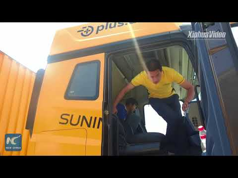 Suning completes testing of self-driving heavy-duty truck