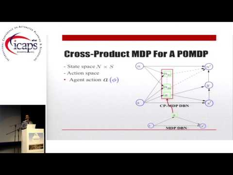 """ICAPS 2015: """"History-Based Controller Design and Optimization for Partially Observable MDPs"""""""