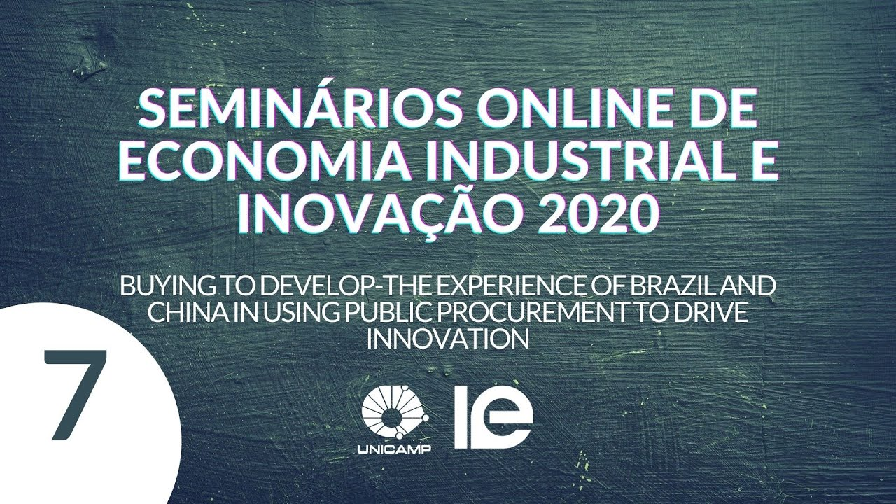 Buying to develop-the experience of Brazil and China in using public procurement to drive innovation