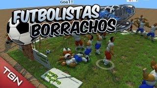 ¡FUTBOLISTAS BORRACHOS JAJAJA! (GOOFBALL)