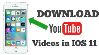 How To Download Youtube Videos On iPhone To Camera Roll! (NO COMPUTER) 2017 - technical aj