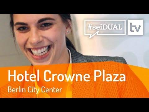 Ausbildung   Hotelfachmann*frau   Hotel Crowne Plaza Berlin City Centre   #seiDUAL TV