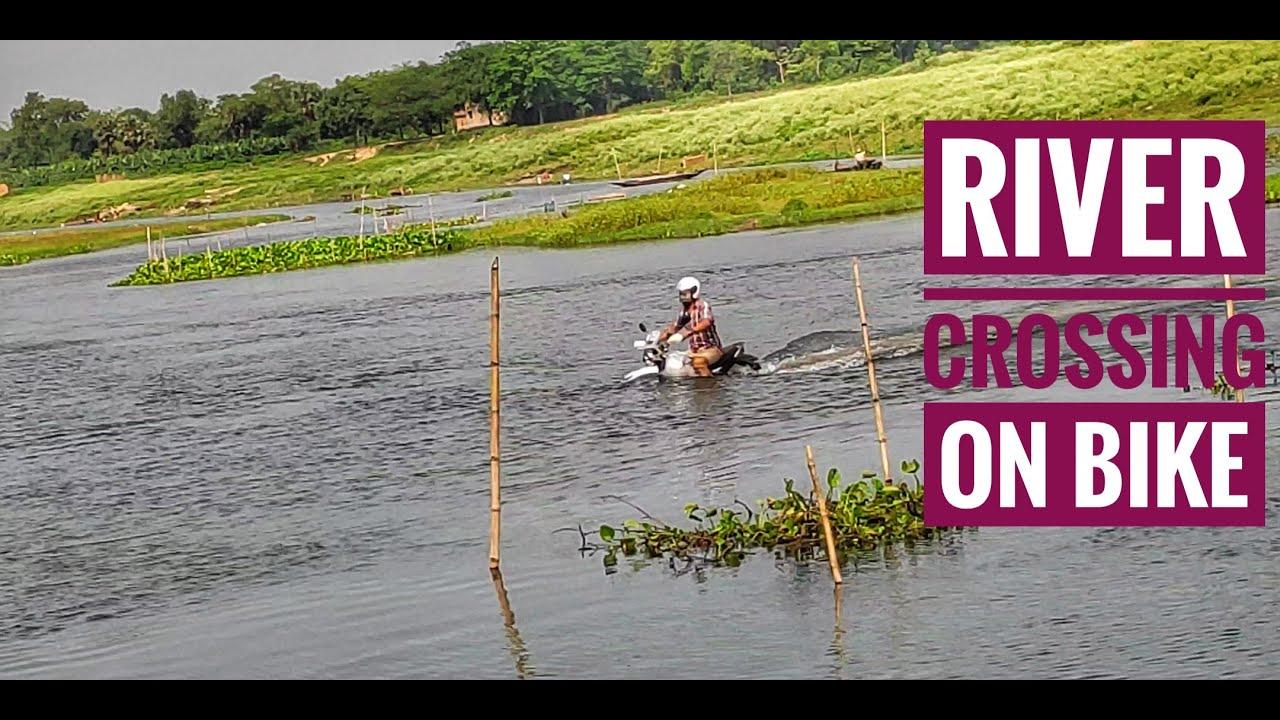 River Crossing on Hero Xpulse 200 Bike | Extreme Adventure | Biker in River | Ride in Lockdown