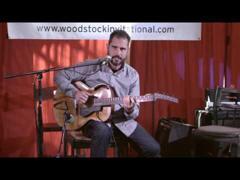 Charlie Hunter plays Ken Parker Archtops at Woodstock Luthier's Invitational