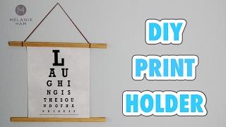 DIY Interchangeable Print Holder - HGTV Handmade