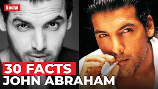 30 Facts You Didn't Know About John Abraham | Hindi | Mumbai Saga