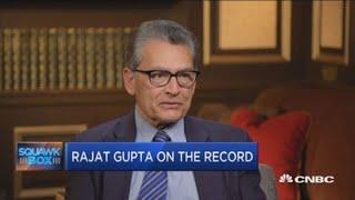 Rajat Gupta on his relationship with Raj Rajaratnam