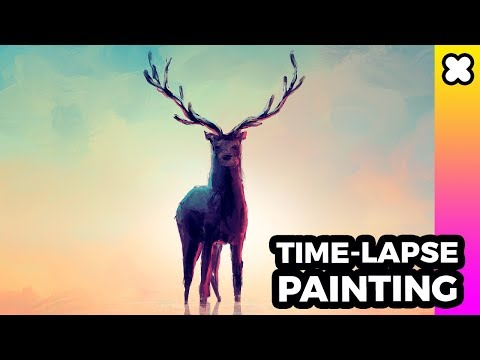 time-lapse-painting---stand-alone-(procreate,-ipadpro,-apple-pencil)
