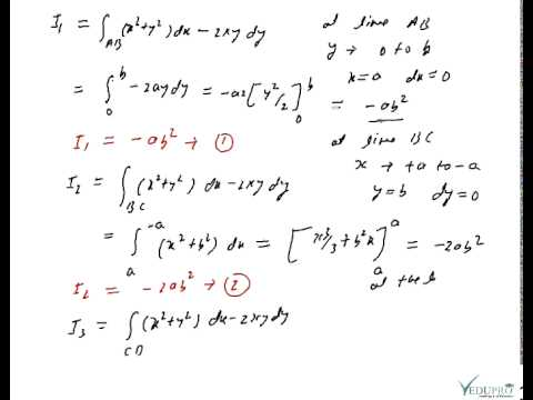 green's theorem example problems pdf free