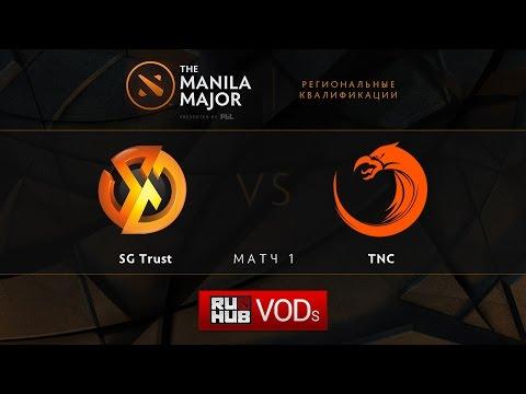SG.Trust vs TnC,Manila Major Qualifiers game 1