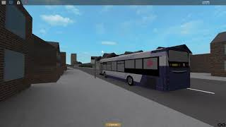 Roblox Buses the Original Route 52 NMGH to Salford Return Trip