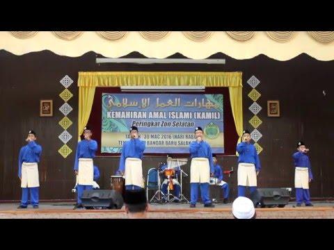 Nasyid Kamil Zon 3 (Selatan) 2016 | Badi'uzzaman (Naib Johan)