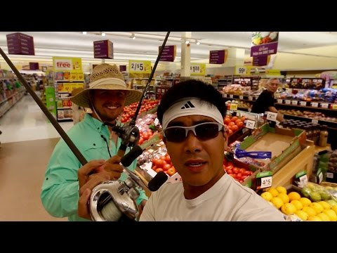 Grocery Store Fishing Challenge!!!