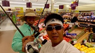grocery store fishing challenge