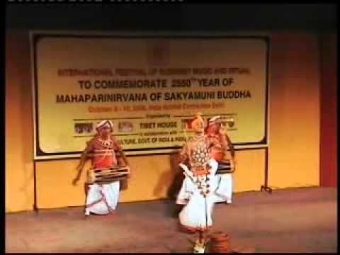 RUPATUNGA KANDYAN DANCE DELHI OCT 2006 -2.flv