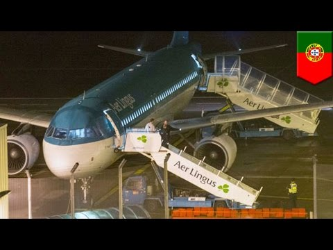 Aer Lingus passenger dies on flight after biting another passenger - TomoNews