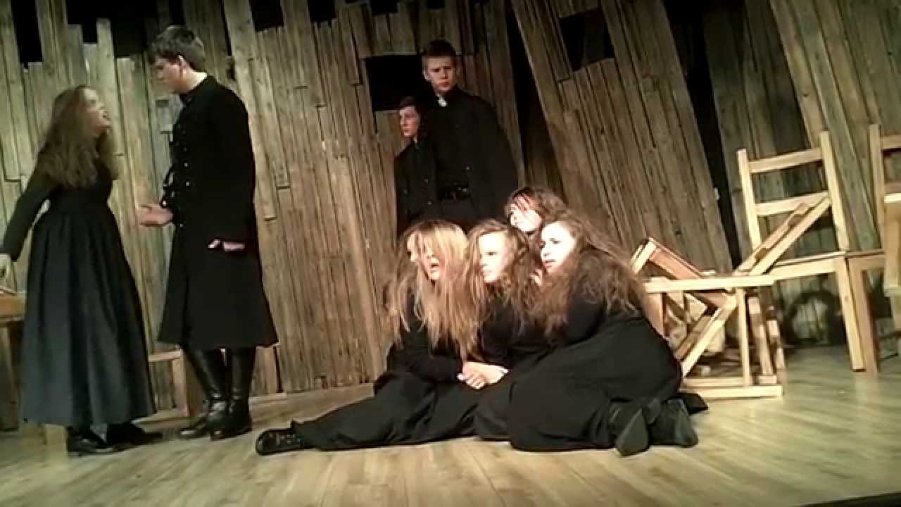the crucible yellow bird scene