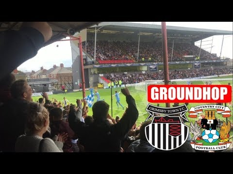 Groundhop Grimsby Town VS Coventry City / Blundell Park