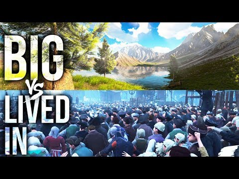 BIGGER Vs More Lived-In Open Worlds In Gaming
