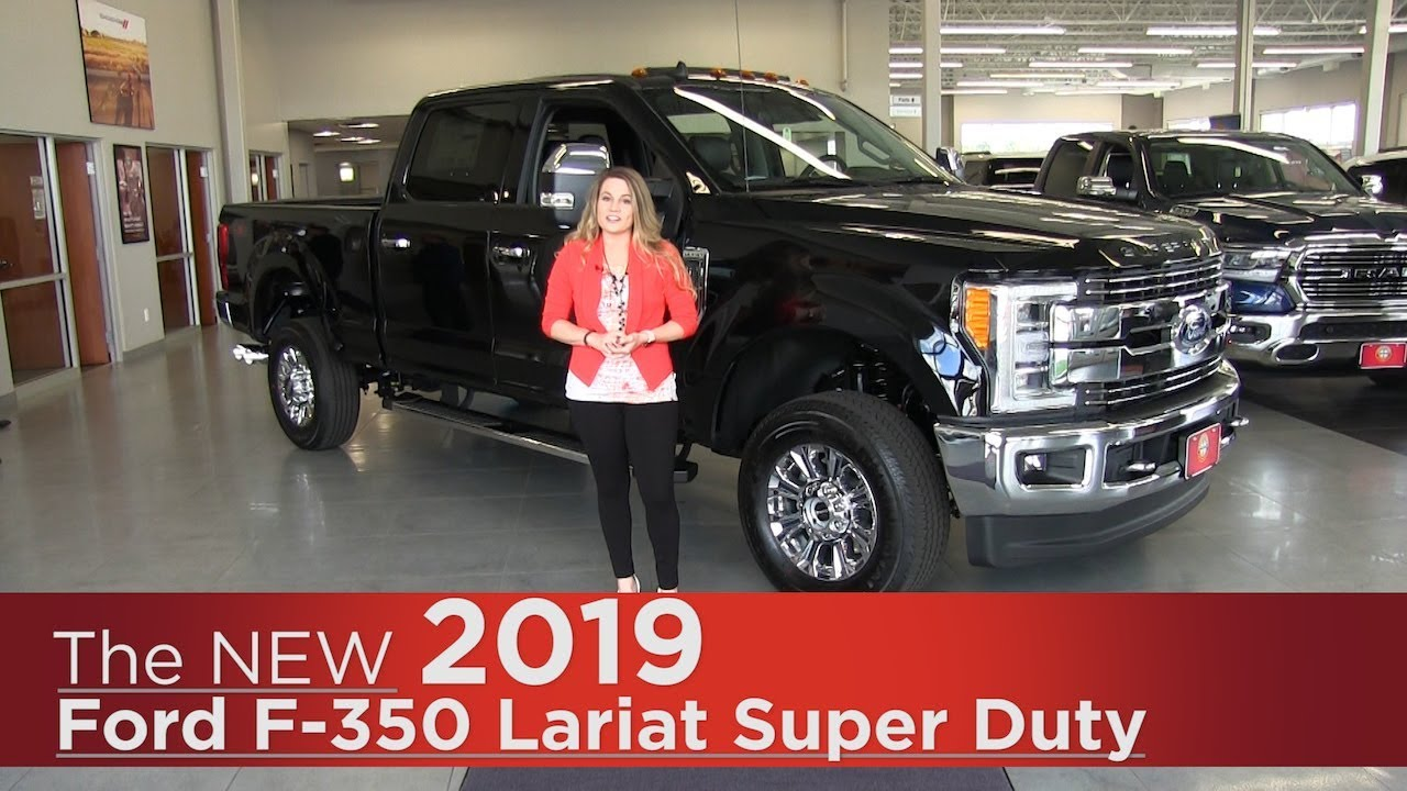 New 2019 Ford F 350 Lariat Super Duty Elk River Coon Rapids Mpls